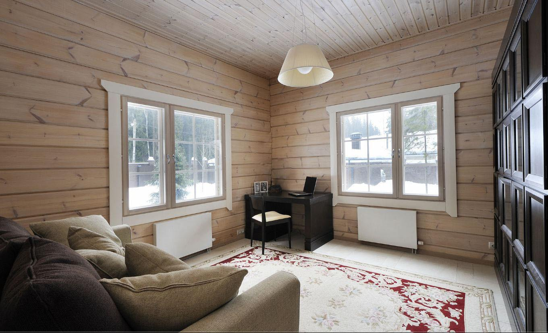 отделка дома финский стиль